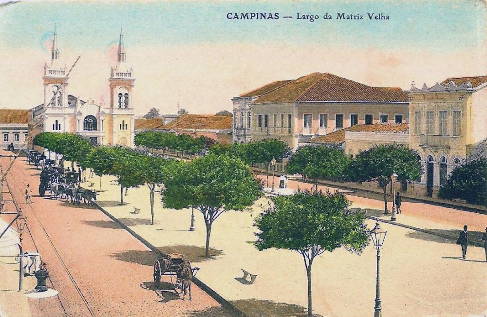 SD - Campinas - Largo da Mariz Velha - 14x9,1cm