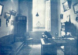 13- sala do escritório, à rua São Bento, 54, sobrado